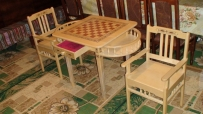 Szachowy stół