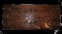 Backgammon 50x46 cm