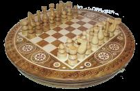 Шахматы с инкрустацией