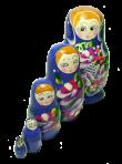 Lalka z zabawkami (5 szt.)