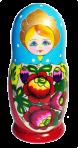 Zagnieżdżona lalka ukraińska (7 pozycji)