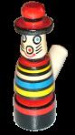 """Свистулька """"кот в шляпе"""""""