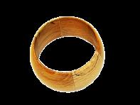 Bransoletka wykonana z drewna