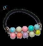 Scrunchy z perłami