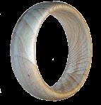 Тонкий деревянный браслет