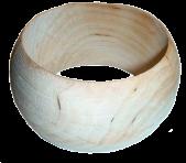 Широкий деревянный браслет