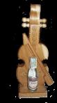 Скрипка з горілкою міні