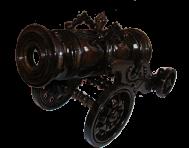 Пушка держатель для бутылки