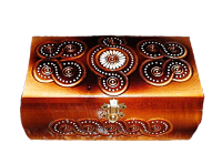 Pudełko na biżuterię 11x21 sm