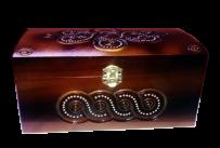 Pudełko na biżuterię bezpośrednio 11x19 sm