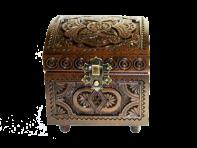 Pudełko na biżuterię 10 x 10 cm