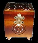 Скринька з замком 9х9