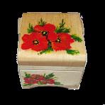 Malowane pudełko na biżuterię 7,5х7,5