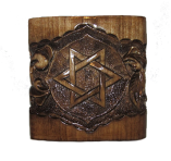 "Pudełko na biżuterię ""Star of David"""