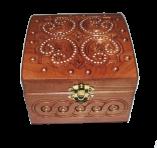 Pudełko na biżuterię 12x12 sm