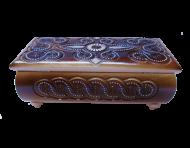 Pudełko na biżuterię 25x12