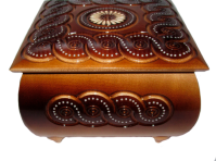 Pudełko na biżuterię 17x17