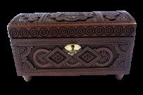 Pudełko z kluczem 9x18