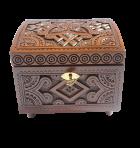 Pudełko na biżuterię z kluczem 14х14