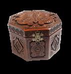 Pudełko na biżuterię ośmiokąt 14х14