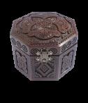 Pudełko na biżuterię ośmiokątne 12x12