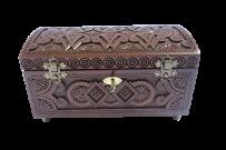 Pudełko na biżuterię z kluczem 21x11
