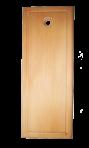 Prostokątny z fasetą 14 cm