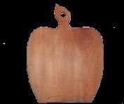 Обробна дошка Яблуко на підставці
