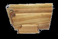 Dębowy zestaw desek do krojenia