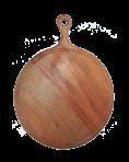 Okrągła deska do krojenia z uchwytem