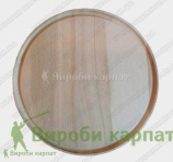Round serving plate d24