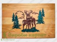 Epoxy resin cutting board