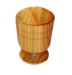 Drewniany kieliszek