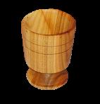 Деревянный фужер