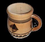 Drewniany kubek
