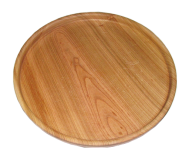 Wooden serving tray 25 cm