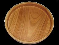 Drewniana taca do serwowania 18 cm