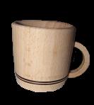 Drewniany kubek 5x4 cm