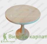 Drewniane naczynie na nodze 23 cm