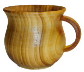 Дерев'яна чашка