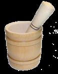Drewniane pudełko na czosnek