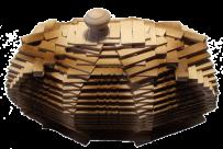 Drewniane cukierki