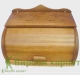 Rzeźbione pudełko na chleb