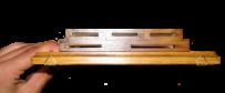 Подставка для ножей прямоугольная