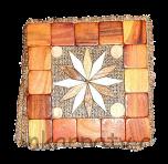 Trivet aromatyzowany (15 x 15 cm)