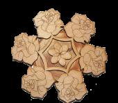 Подставка роза
