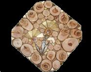 Підставка під гаряче Квітка 18х18см