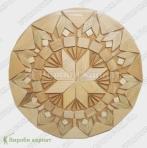 Drewniana płyta grzejna 24cm