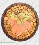 Drewniana płyta grzejna 20 cm
