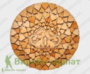 Wooden hot plate